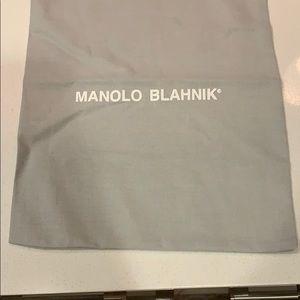 Manolo Dust Bag